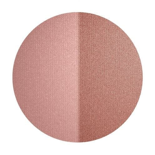 Inika Organic baked blush duo BURNT PEACH