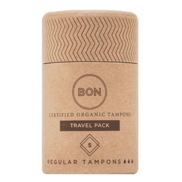 BON Organic Tampons Travel Size