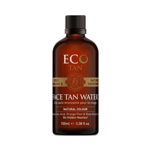 face tan water