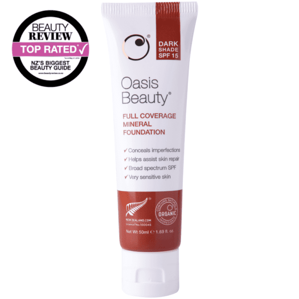 Oasis beauty mineral foundation bb cream dark
