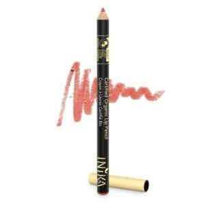 Inika lip pencil moroccan rose