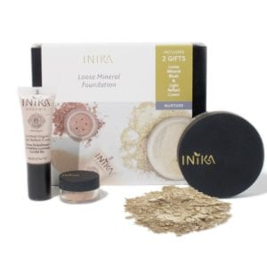 Inika Organic Loose Mineral Foundation Matte and Flawless set