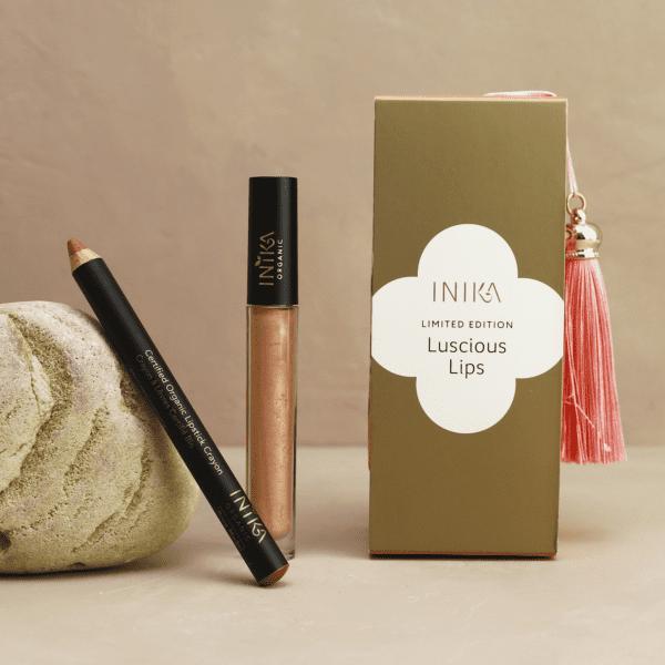 Inika Organic Luscious Lips Set